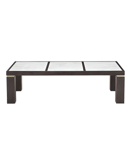 Decorage Marble-Panel Coffee Table