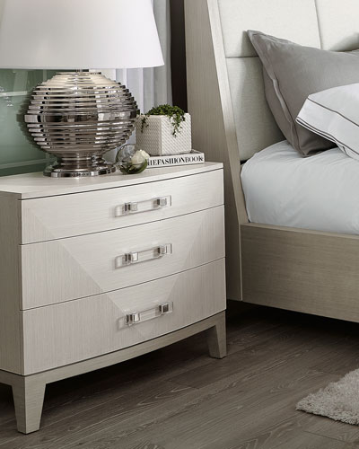 Axiom Large 3 Drawer Nightstand
