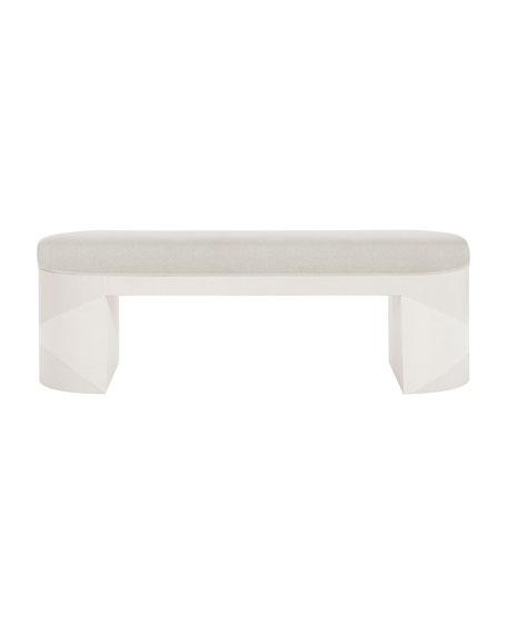 "Axiom 56"" Oval Bench"