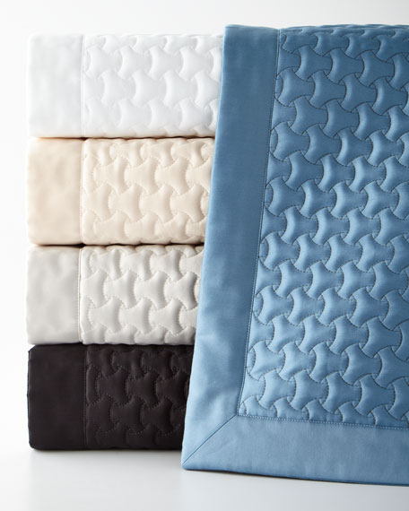 Trinity Quilted King Coverlet