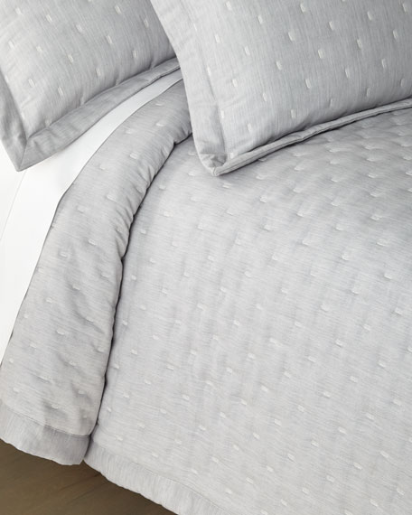 Zermatt Fil Coupe Quilted Queen Coverlet