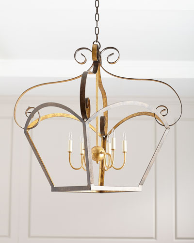 Rustic Outline Chandelier