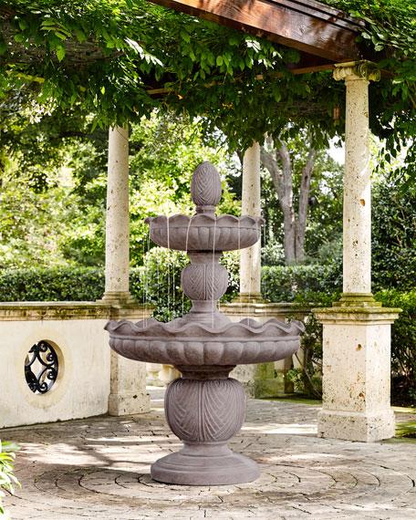 Stonecast 2-Tier Fountain