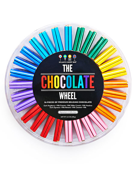 Dylan's Candy Bar 56-Piece Chocolate Wheel