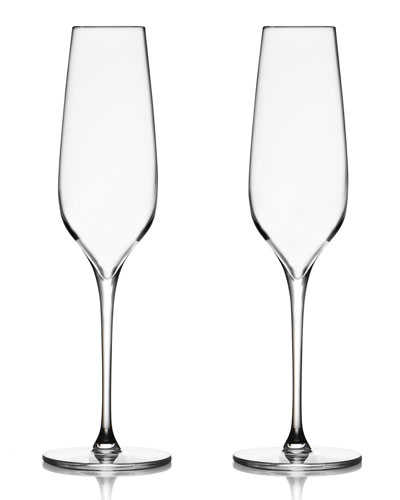 Vie Champagne Flutes  Set of 2