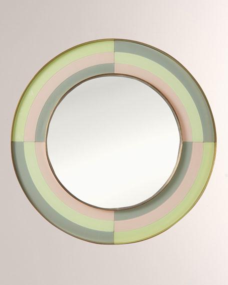 Harlequin Round Mirror