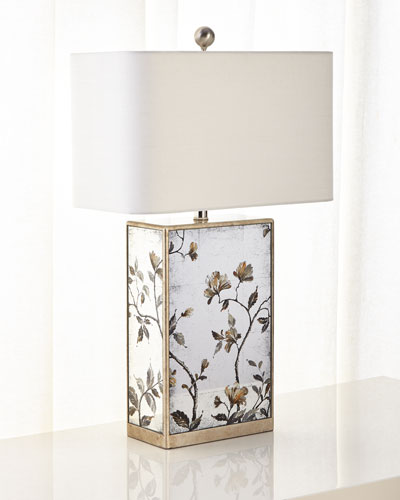 Eglomise Table Lamp