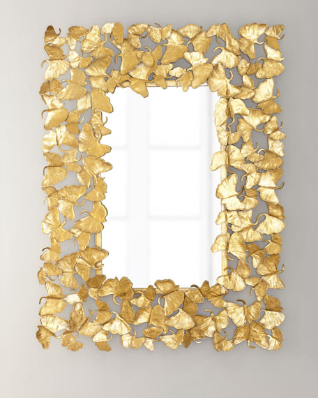 Jamie Young Ginkgo Leaf Mirror