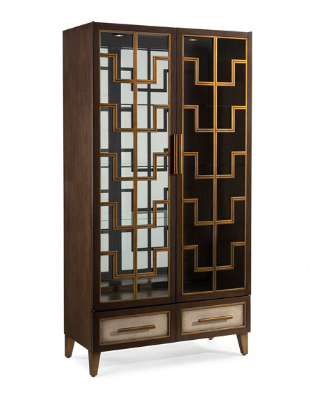 Castleleigh Lighted Display Cabinet