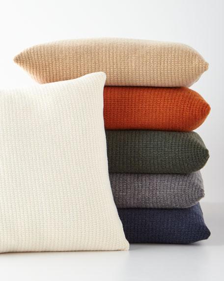 Chunky Knit Decorative Pillow