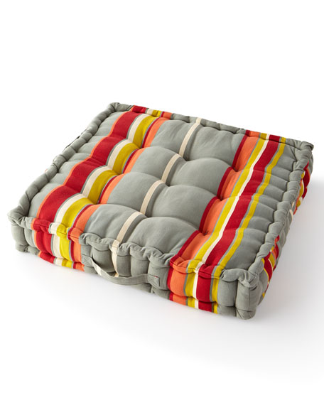 MacKenzie-Childs Boheme Stripe Floor Cushion