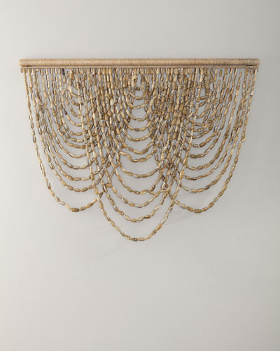 Olive Shell Hanging Wall Decor
