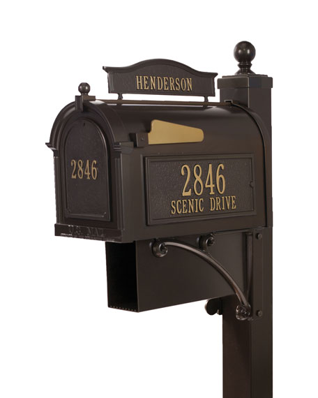 Ultimate Mailbox Package, Bronze