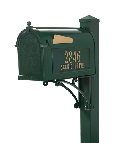 Ultimate Mailbox Package  Green