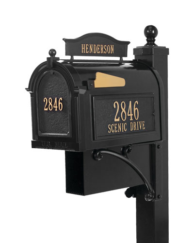 Ultimate Mailbox Package  Black