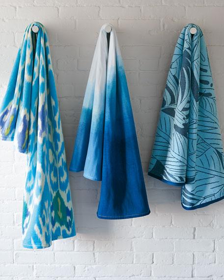 Dip Dye Ombre Beach Towel