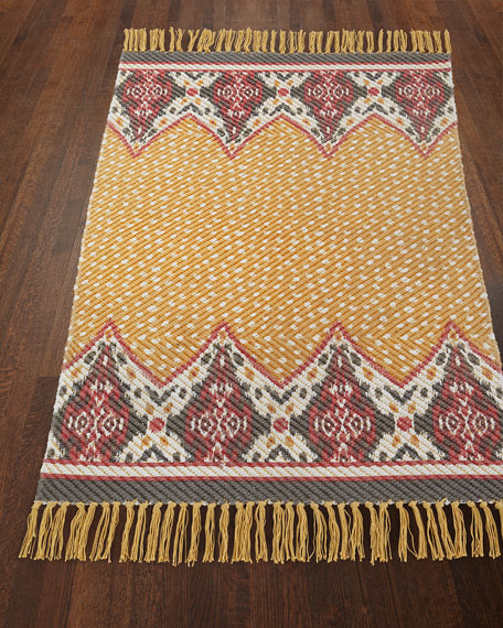 MacKenzie-Childs Zanzibar Indoor/Outdoor Rug, 2' x 3'