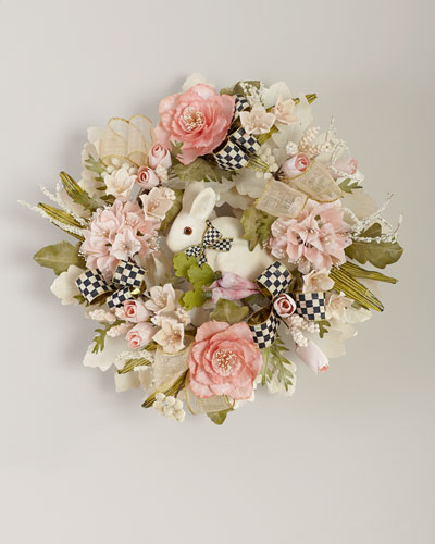 Cottontail Wreath
