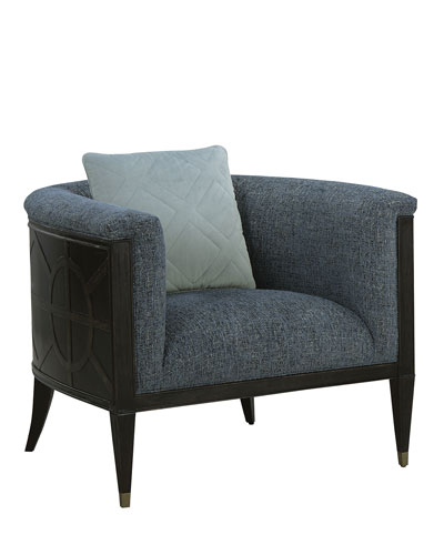 Laina Barrel-Back Accent Chair