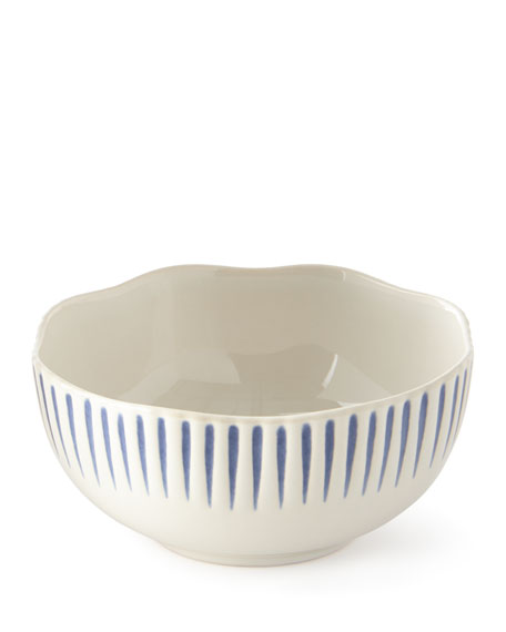 Sitio Stripe Cereal/Ice Cream Bowl