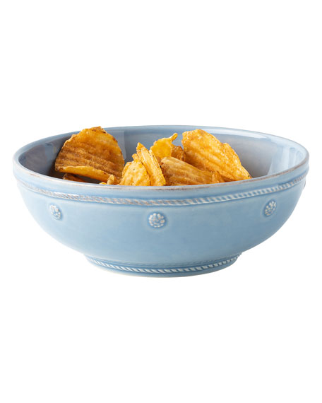 Berry & Thread Chambray Pasta Bowl
