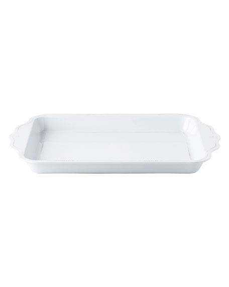 Juliska Berry and Thread Whitewash Handled Tray