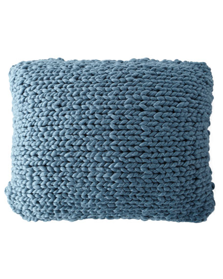 Hannah Chunky Knit Dutch European Sham