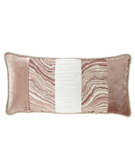 Geod Pieced Oblong Pillow