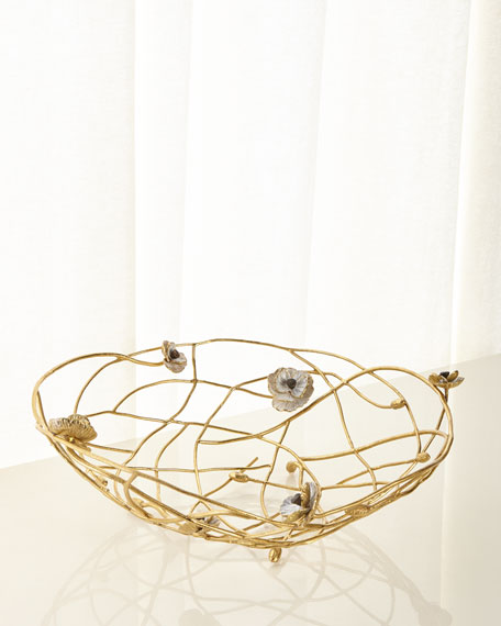 Michael Aram Anemone Centerpiece Bowl