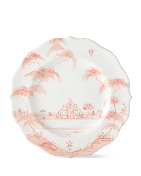 Country Estate Petal Pink Salad/Dessert Plate