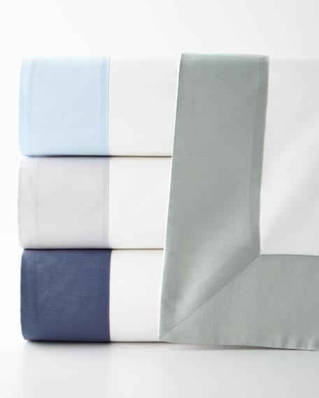 Modern Sateen Applique Twin Duvet Cover