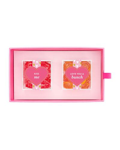 XOXO 2-Piece Candy Bento Box
