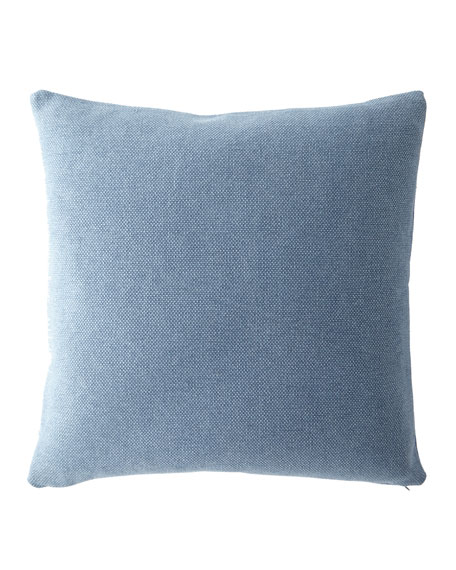 "Faded Woven Decorative Pillow, 20""Sq."
