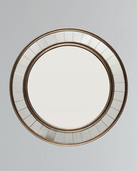 Coltrane Antiqued Bronze Mirror