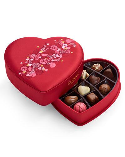 14-Piece Small Fabric Heart Chocolate Box
