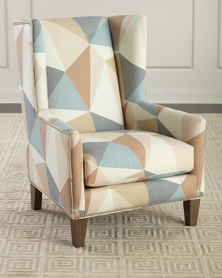 Massoud Tamra Wing Chair