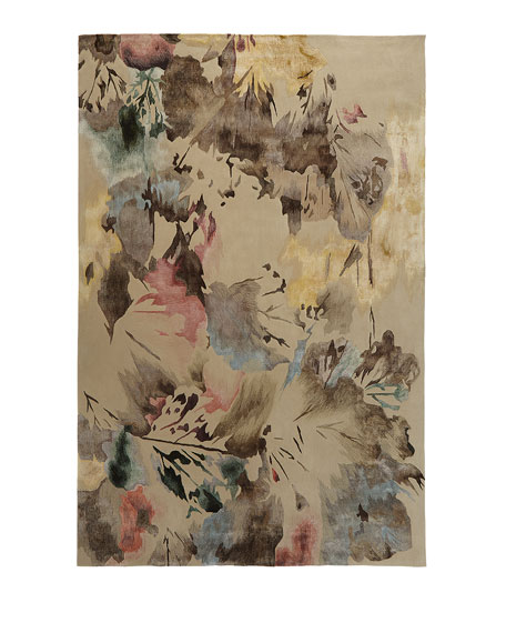 Brushstroke Hand-Tufted Rug, 3.9' x 5.9'
