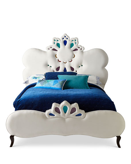 Elaina Stained Glass Queen Bed