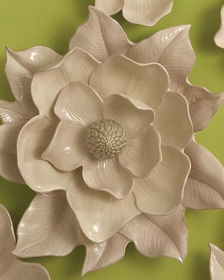 Global Views Magnolia Wall Flower