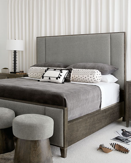 Bernhardt Linea Vertical Panel King Bed