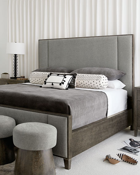 Bernhardt Linea Vertical Panel Queen Bed