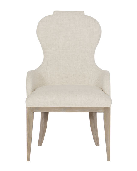 Bernhardt Santa Barbara Notched Arm Chair