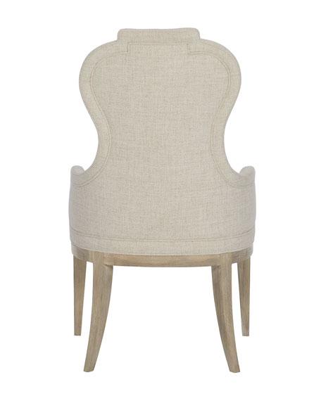 Santa Barbara Notched Arm Chair