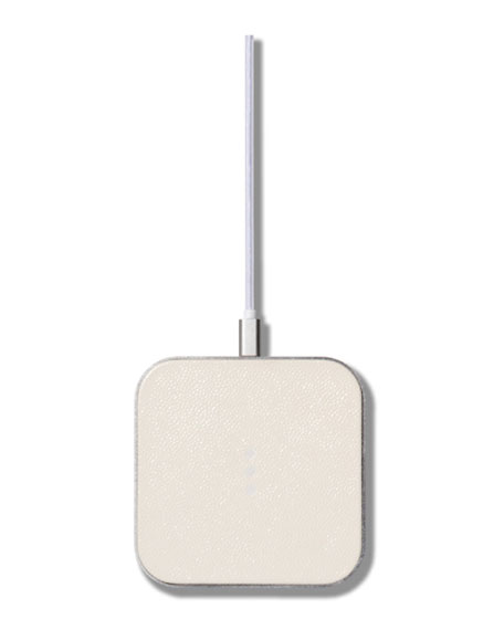 Courant CATCH:1 Single Device Wireless Charger, Bone