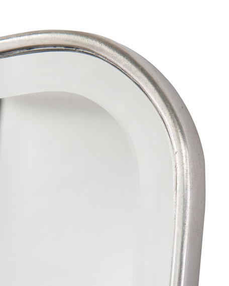 Moran Mirror in Pewter