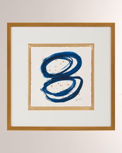 Blue Gold I Wall Art by Dyann Gunter