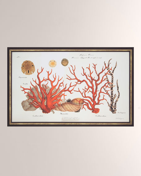 """Coral Reef I"" Giclee Wall Art"