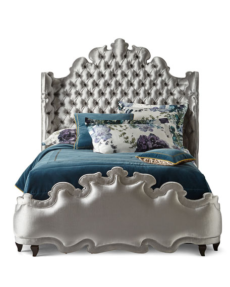 Isabella Tufted King Bed