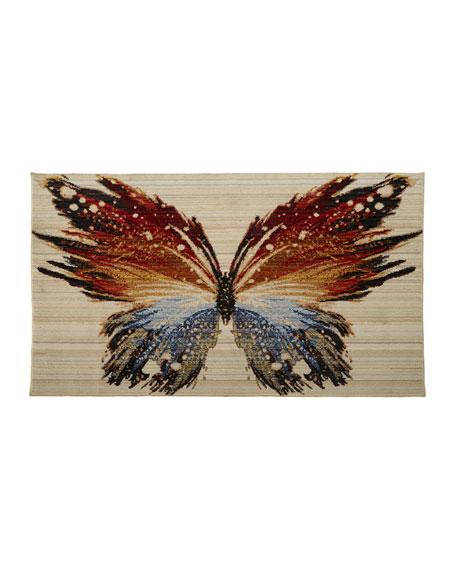 Skipper Butterfly Rug, 3' x 5'
