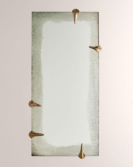 Barry Dixon for Arteriors Edged Talon Mirror